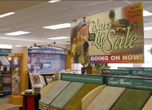 Standard Retail Signage from GDS Retail & Display Graphics.