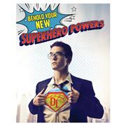 Discount Labels Superhero Campaign