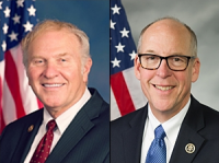 Rep. Steve Chabot (left) and Rep. Greg Walden (right) received PPAI's Legislator of the Year Award.