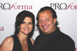 Pictured left to right: Vera Muzzillo, CEO, Greg Muzzillo, Founder, Proforma.