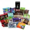 Packaging samples from FoldedColor Packaging.
