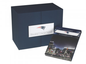 New England Patriots private luxury suite package from Taylor Box Company.